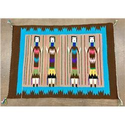Navajo Pictorial Yeibachei Textile