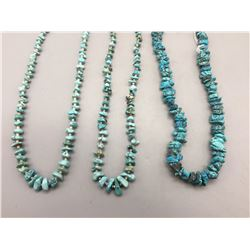 Turquoise Nugget Necklaces and Strand