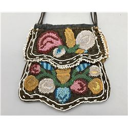 Beaded Iroquois Purse/Bag