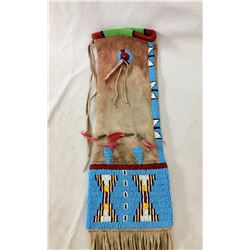 Vintage Sioux Beaded Pipe Bag