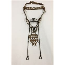 "Navajo ""Coin"" Bridle with Ring Bit"