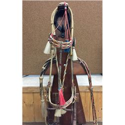Deer Lodge, Hitched Horse Hair Bridle