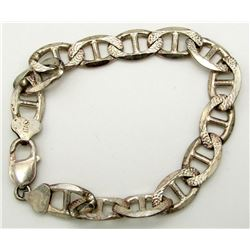 ITALY 925 MARKED MENS CLASP BRACELETTE