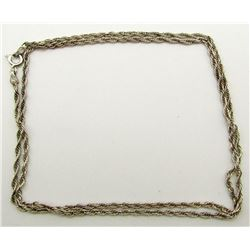 24 INCH MILOR STERLING NECKLACE CHAIN