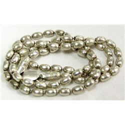 STERLING CHAIN NECKLACE TOTAL 6.9 DWT