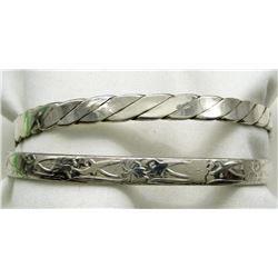 MEXICO STERLING BRACELETS LOT OF 2