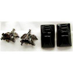 2-PAIRS OF EARRINGS (1)MEXICO WITH LARGE