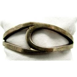 STERLING BANGLE WITH DETAILS!