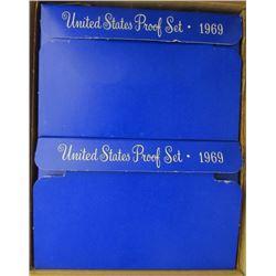 10 - 1969 U.S. PROOF SETS