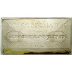 100 oz ENGELHARD .999 SILVER BAR