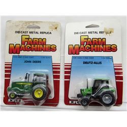 VINTAGE ERTL FARM MACHINES JOHN DEERE