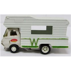 VINTAGE TONKA WINNEBAGO TOY RV CAMPER 6""