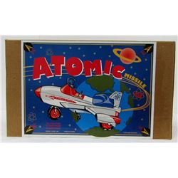 KEN KOVACH ATOMIC MISSILE DIECAST METAL MODEL