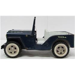 VINTAGE TONKA USAF PRESSED STEEL TOY JEEP