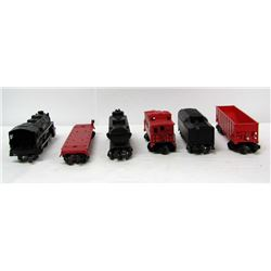 VINTAGE LIONEL TRAIN LINES 246 ENGINE & CARS