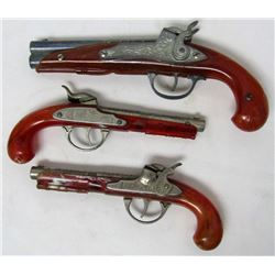 VINTAGE HUBLEY FLINT LOCK & FLINTLOCK JR TOY GUNS