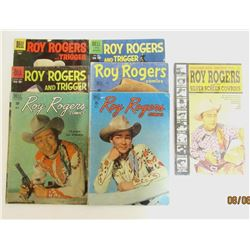 ROY ROGERS DELL COMIC LOT (6)
