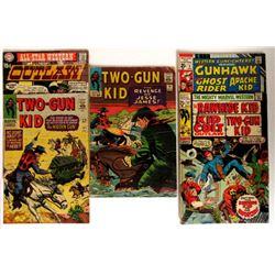COWBOY COMIC LOT: '78 &'81 TWO-GUN KID