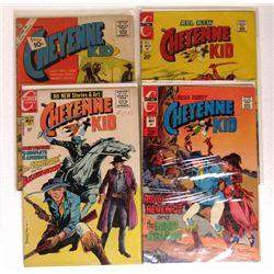 4 - CHEYENNE KID COMIC BOOKS