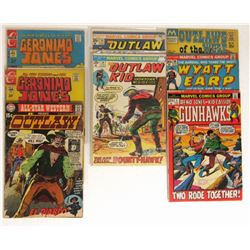 WESTERN COMIC LOT: '70 & '71 OUTLAW