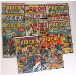 11-KID COLT OUTLAW COMIC BOOKS: