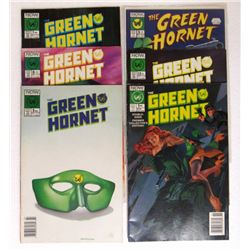 1990 GREEN HORNET NOW COMICS (6 TOTAL)