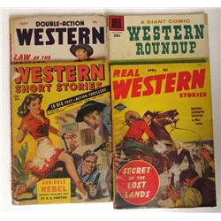 4-WESTERN SHORT STORIES: DOUBLE ACTION