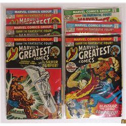 6-MARVEL'S GREATEST COMICS 20c ISSUES