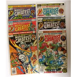 6-MARVELS'S GREATEST COMICS 30c ISSUES