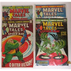 4-MARVEL TALES SPIDER-MAN 20c ISSUES