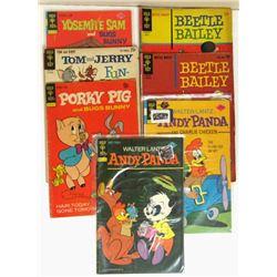 1964 #44 & 1965 #50 BEETLE BAILEY COMICS;