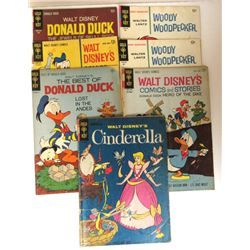 7-GOLD KEY 12c COMIC ISSUES: 4-DONALD DUCK