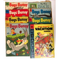 6-DELL 10c BUGS BUNNY COMICS