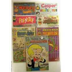 4-RICHIE RICH COMICS 25c ISSUES;