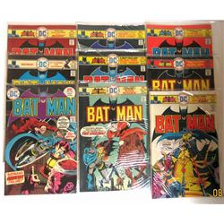 9-1975/1976 DC BATMAN COMICS
