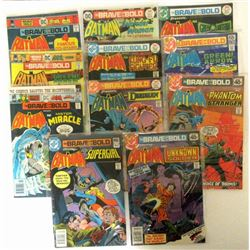 1976/77 BRAVE & BOLD BATMAN COMIC BOOKS