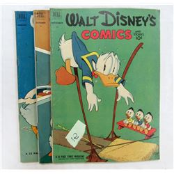 3- WALT DISNEY'S COMICS AND STORIES 143-145