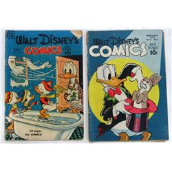 LOT OF 2 WALT DISNEY'S COMIC AND STORIES