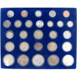 27- U.S. COIN COLLECTION w/3 SILVER $