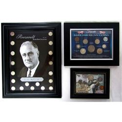 ROOSEVELT SILVER DIME COLLECTION '46-'64