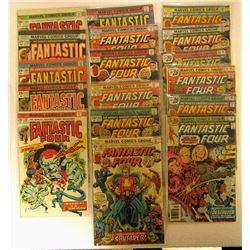 1975/1976 MARVEL FANTASTIC FOUR LOT