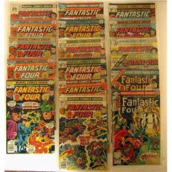 1976-1978 MARVEL FANTASTIC FOUR LOT