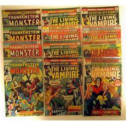 1975 MARVEL FRANKENSTEIN MONSTER COMICS