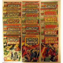 1974-1977 MARVEL GHOST RIDER LOT