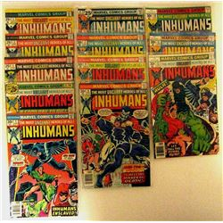 COMPLETE 12 ISSUE 1975 THE INHUMANS