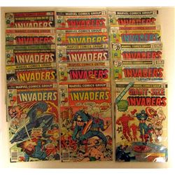 1976-1978 MARVEL THE INVADERS LOT;