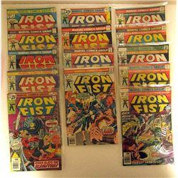 1975-1977 MARVEL IRON FIST #1 thru #13
