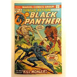 JUNGLE ACTION #6 September 1973 Black Panther