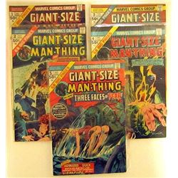 GIANT-SIZE MAN-THING #1-5 MARVEL