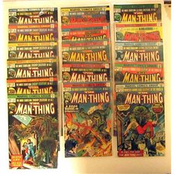 1974/1975 MARVEL THE MAN-THING LOT